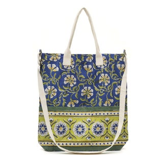 Kalini Multi-Purpose Tote - Indigo (India)