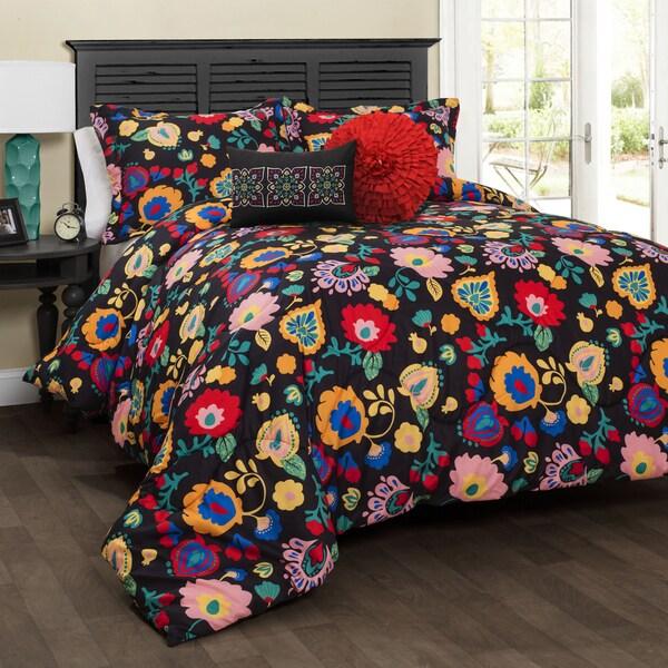 Lush Decor Carlotta 5-piece Comforter Set