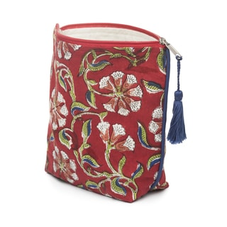 Kalini Cosmetic Pouch - Scarlet (India)