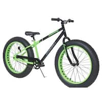 Dynacraft Krusher Black and Green Single-speed 24-inch Bicycle