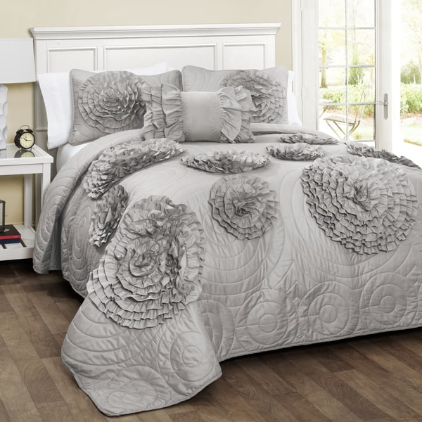 Lush Decor Fiorella 4-piece Quilt Set