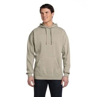 Men's Garment-Dyed Sandstone Pullover Hood