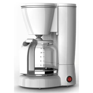 Melitta 66358 12 Cup White Aroma Brew Coffee Maker