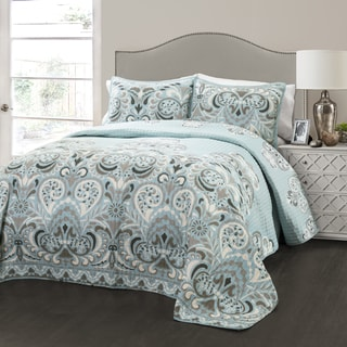 Lush Decor Clara 3-piece Quilt Set