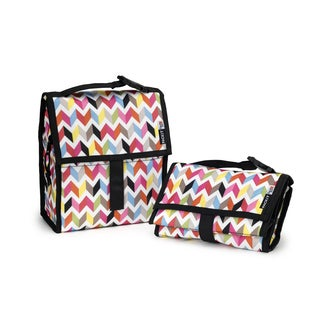 built gourmet to go lunch tote black 18369491 shopping big discounts on. Black Bedroom Furniture Sets. Home Design Ideas