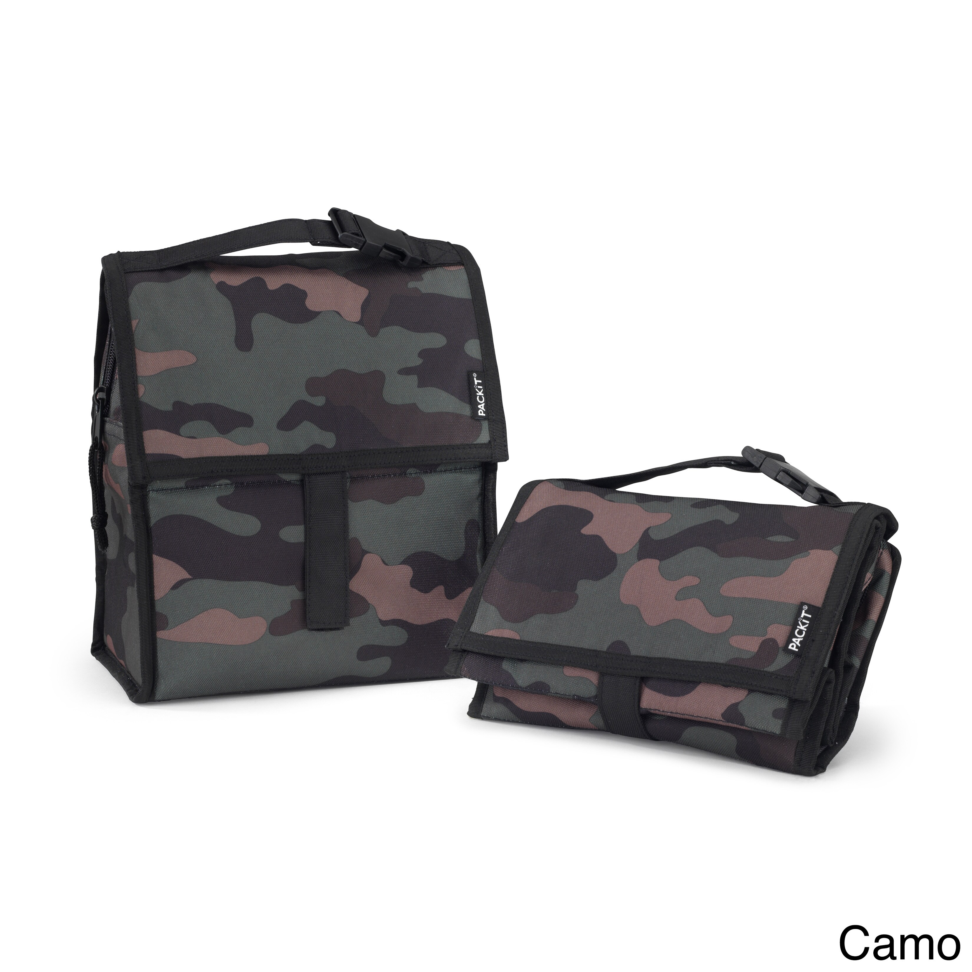TOTES PACKiT Freezable Lunch Bag (PACKiT Lunch Bag - Camo...