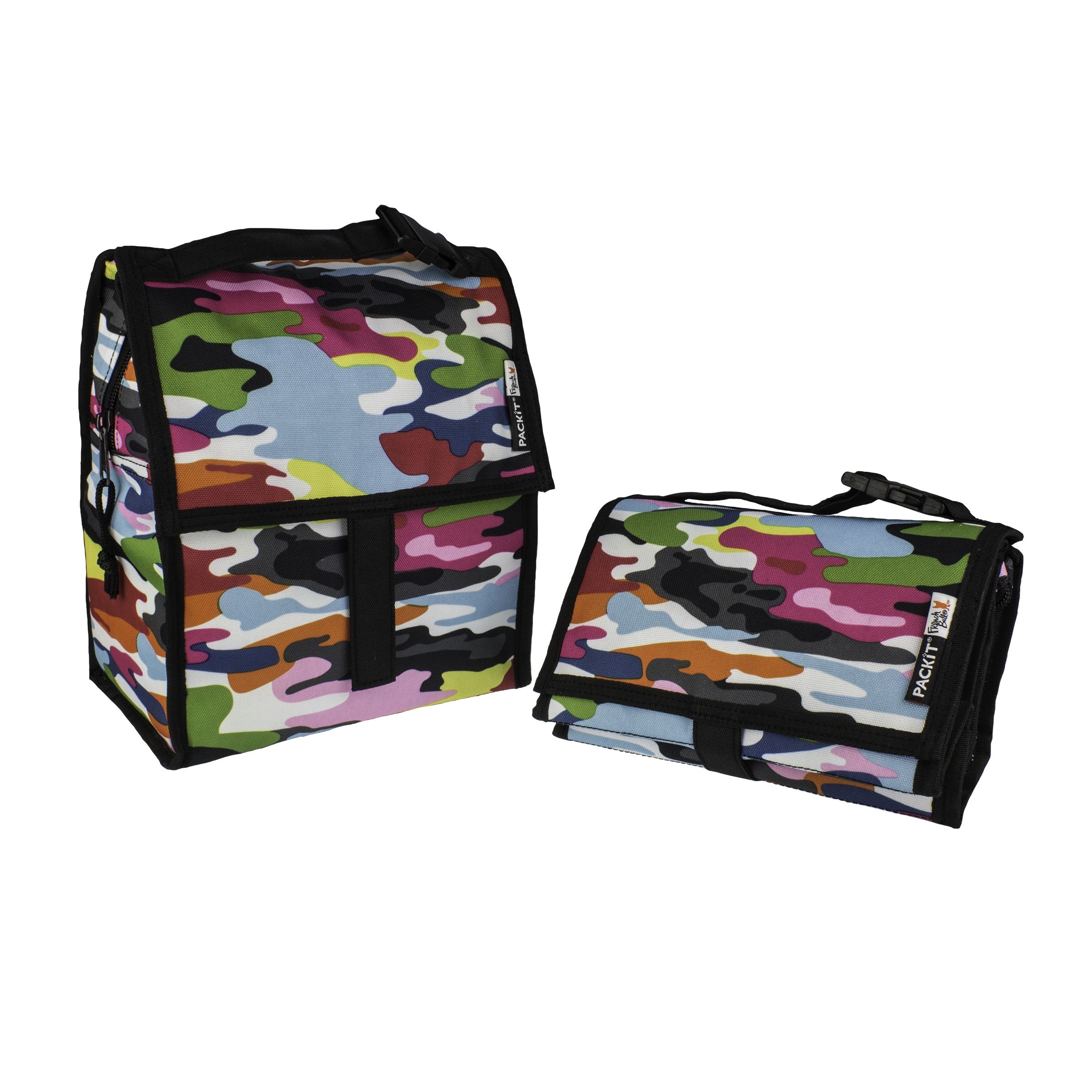 Pac-Kit Freezable Gogo Multicolored Lunch Bag (PACKiT Fre...