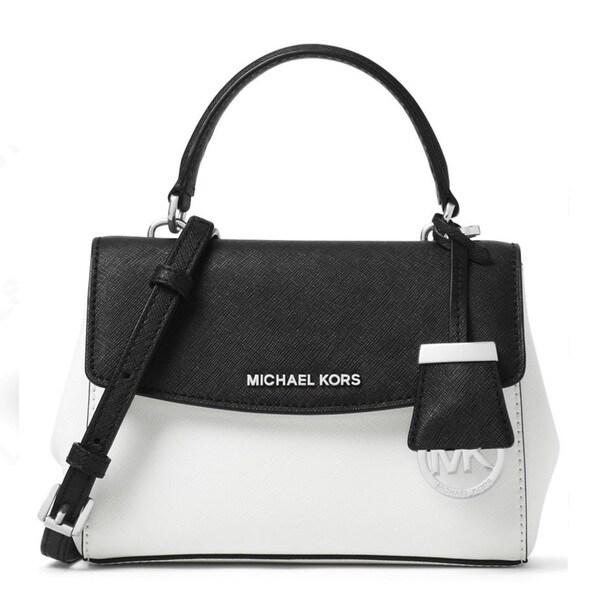 3d896638091846 Shop MICHAEL KORS Ava X-Small Saffiano Leather Crossbody Bag - Free ...