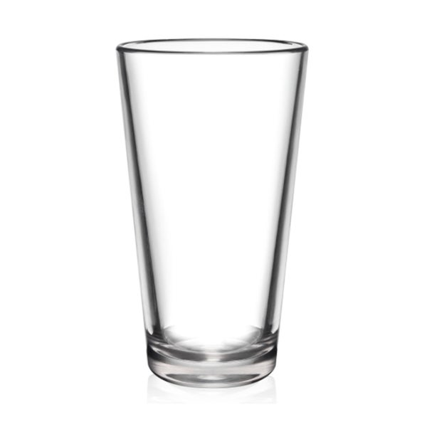 Great BarLuxe 16 Ounce The Pint 6 Piece Unbreakable Pint Glasses Set