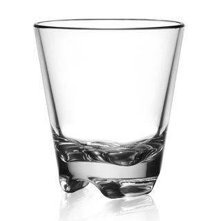 BarLuxe 9.5 ounce Vero Short 6-Piece Unbreakable Glasses Set