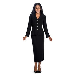 Giovanna Signature Women's Polyester 2-piece Skirt Suit|https://ak1.ostkcdn.com/images/products/12420102/P19238193.jpg?impolicy=medium