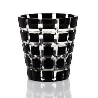 Lionel Richie Home Black Onyx Shot Glasses by (Set of 6)