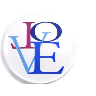 Impulse Love Blue Small Plate (Set of 4)