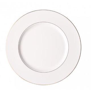 Impulse! Riviera White Dinner Plate (Pack of 6)