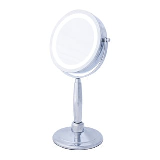 Upper Canada Danielle 5x LED 2-in-1 Round Hand-held Mirror