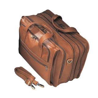 Goodhope Bellino Leather Expandable Briefcase