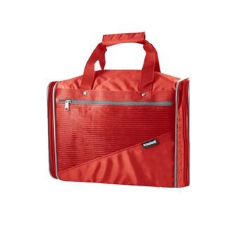 Goodhope Red Nylon and Mesh Locker Duffel Bag
