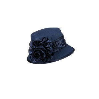 Giovanna Signature Women's Satin Flower Hat