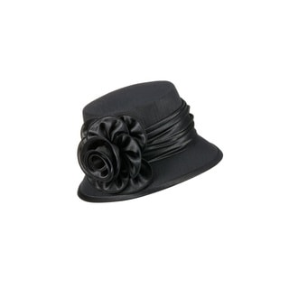 Giovanna Signature Women's Satin Flower Hat
