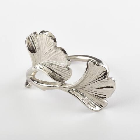 Ginko Design Napkin Ring Ginko Napkin Ring (Set of 4)