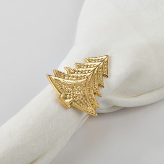 Christmas Tree Design Christmas Tree Napkin Ring (Set of 4)
