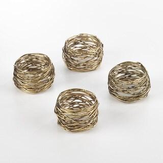 Metal Design Metal Design Napkin Ring (Set of 4)