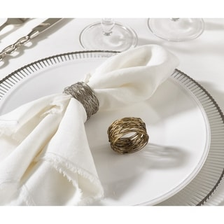 Metal Design Metal Design Napkin Ring (Set of 4)
