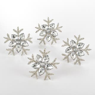 Napkin Ring Collection Snowflake Design Napkin Ring (Set of 4)|https://ak1.ostkcdn.com/images/products/12425575/P19242681.jpg?impolicy=medium