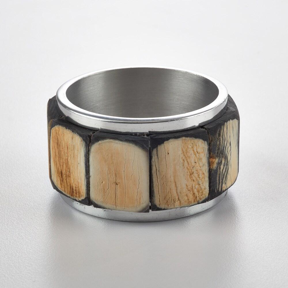Shop Menagere de fete Horn Napkin Ring (Set of 4) - Overstock - 12425579