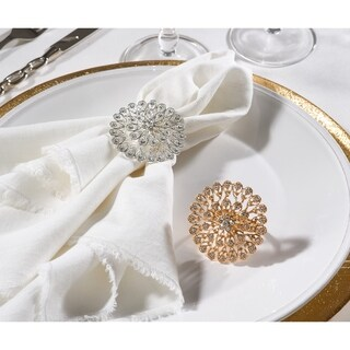 Napkin Ring Collection Starburst Napkin Ring (Set of 4)