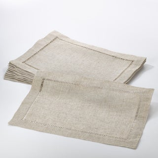 Toscana Collection Hemstitched Placemat (Set of 12)