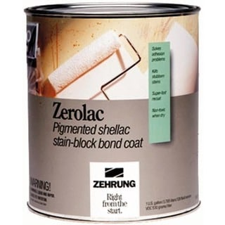 Zehrung 10204 1 Quart Zerolac Pigmented Shellac Stain-Block Bond Coat
