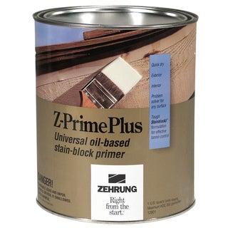 Zehrung 12804 1 Quart Z-Prime Plus Universal Oil Based Stain Block Primer