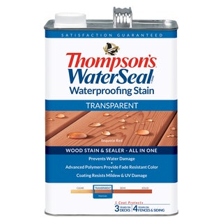 Thompsons Waterseal 41831 Transparent Sequoia Red WaterSeal Waterproofing Stain