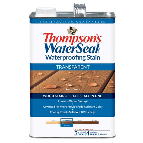 Thompsons Waterseal 41841 Transparent Acorn Brown WaterSeal Waterproofing Stain
