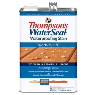 Thompsons Waterseal 41851 Transparent Woodland Cedar WaterSeal Waterproofing Stain