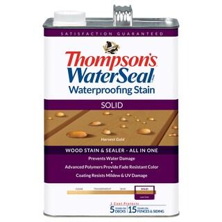 Thompsons Waterseal 43811 Solid Harvest Gold WaterSeal Waterproofing Stain