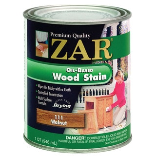 Zar 11112 1 Quart Walnut Zar Oil Based Wood Stain