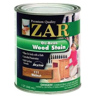 Zar 11112 1 Quart Walnut Zar Oil Based Wood Stain