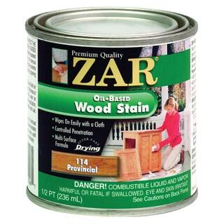 Zar 11406 1/2 Pint Provincial Zar Oil Based Wood Stain