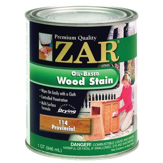 Zar 11412 1 Quart Provincial Zar Oil Based Wood Stain