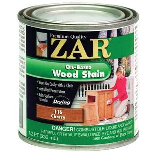 Zar 11606 1/2 Pint Cherry Zar Oil Based Wood Stain