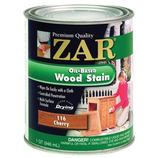 Zar 11612 1 Quart Cherry Zar Oil Based Wood Stain