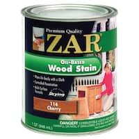 Zar 11612 1 Quart Cherry Zar Oil Based Wood Stain