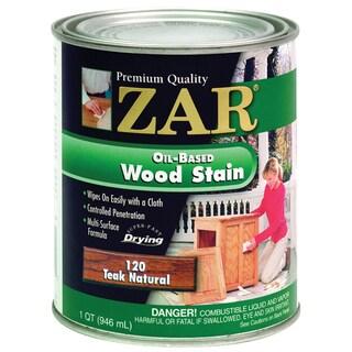 Zar 12012 1 Quart Teak Natural Zar Oil Based Wood Stain