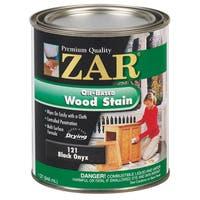 Zar 12112 1 Quart Black Onyx Zar Oil Based Wood Stain
