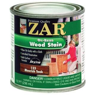 Zar 12306 1/2 Pint Moorish Teak Zar Oil Based Wood Stain