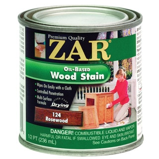 Zar 12406 1/2 Pint Rosewood Zar Oil Based Wood Stain