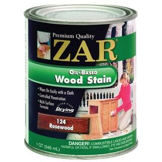 Zar 12412 1 Quart Rosewood Zar Oil Based Wood Stain