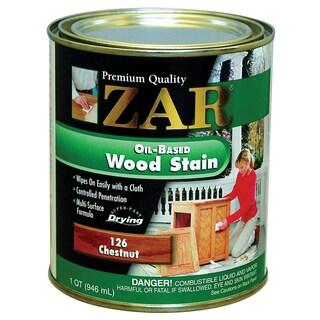 Zar 12612 1 Quart Chestnut Zar Oil Based Wood Stain